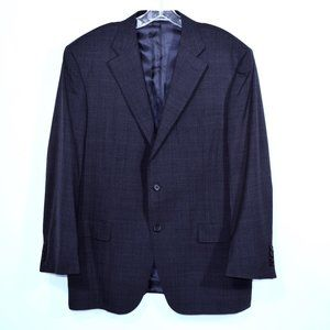 CANALI Blue Suit Jacket Blazer Sport Coat